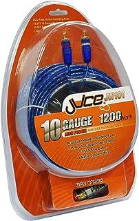 Juice JW101 10 Gauge High Quality Amplifier Wiring Kit 1200 Watts  sc 1 st  Amazon UK : 10 gauge amp wiring kit - yogabreezes.com