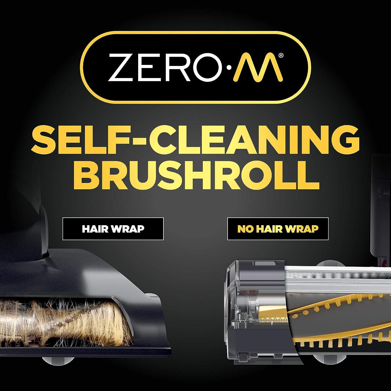 ZU562 Anti-Allergen Shark Navigator Upright Vacuum with Lift-Away Zero-M Hair Wrap Technology HEPA Filter and Swivel Steering Renewed Red Peony