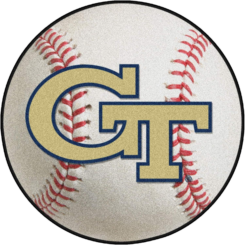 FANMATS NCAA Georgia Tech Yellow Jackets Vinyl Door Mat
