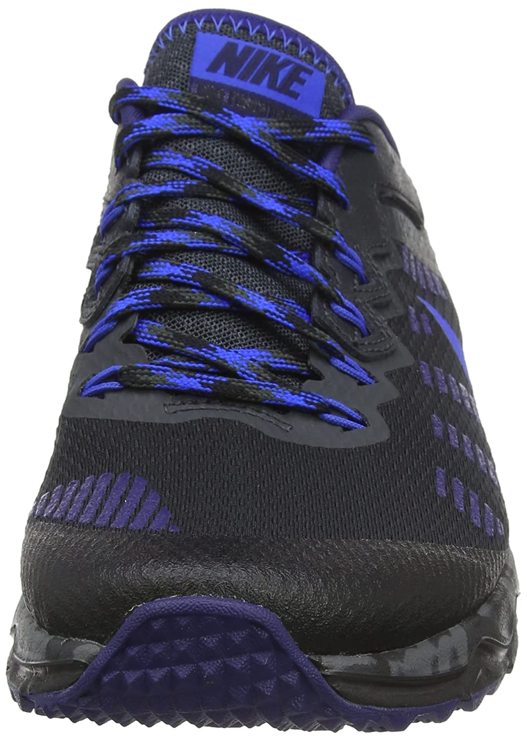 watch 5f0af 3d0a2 Amazon.com   NIKE Men s Dual Fusion Trail 2 Running Shoe (8 D(M) US,  Black Hyper Cobalt Anthracite Loyal Blue)   Trail Running