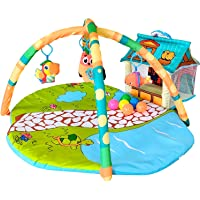 Fun N Well Farmhouse Playtime Baby Gym and Activity Mat | Large & Attractive Play Mat for Infants & Toddlers | Unique 3D…