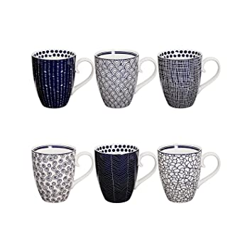 Tassen Design design studio le bleu de nîmes tassen set aus hochwertigem
