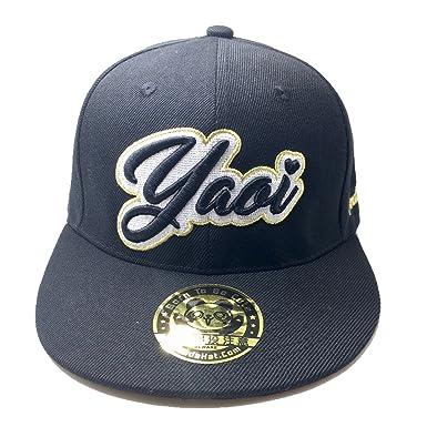 Amazon Pandahat Yaoi Cursive 3d Puff Embroidery Hat Clothing