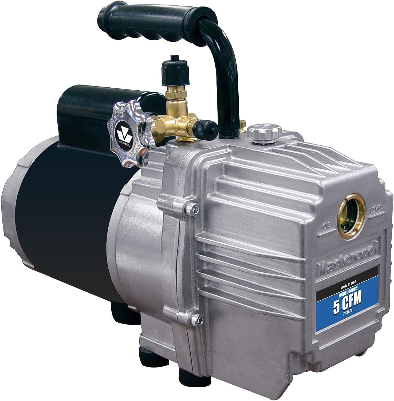 MASTERCOOL (90065 Silver 5.0 CFM 2-Stage Vacuum Pump