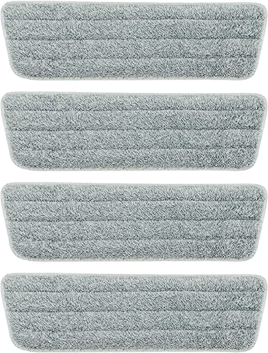 Mop Head Replacement Pads Microfiber Mops Floor Cleaning Washable Pad Refill Dry