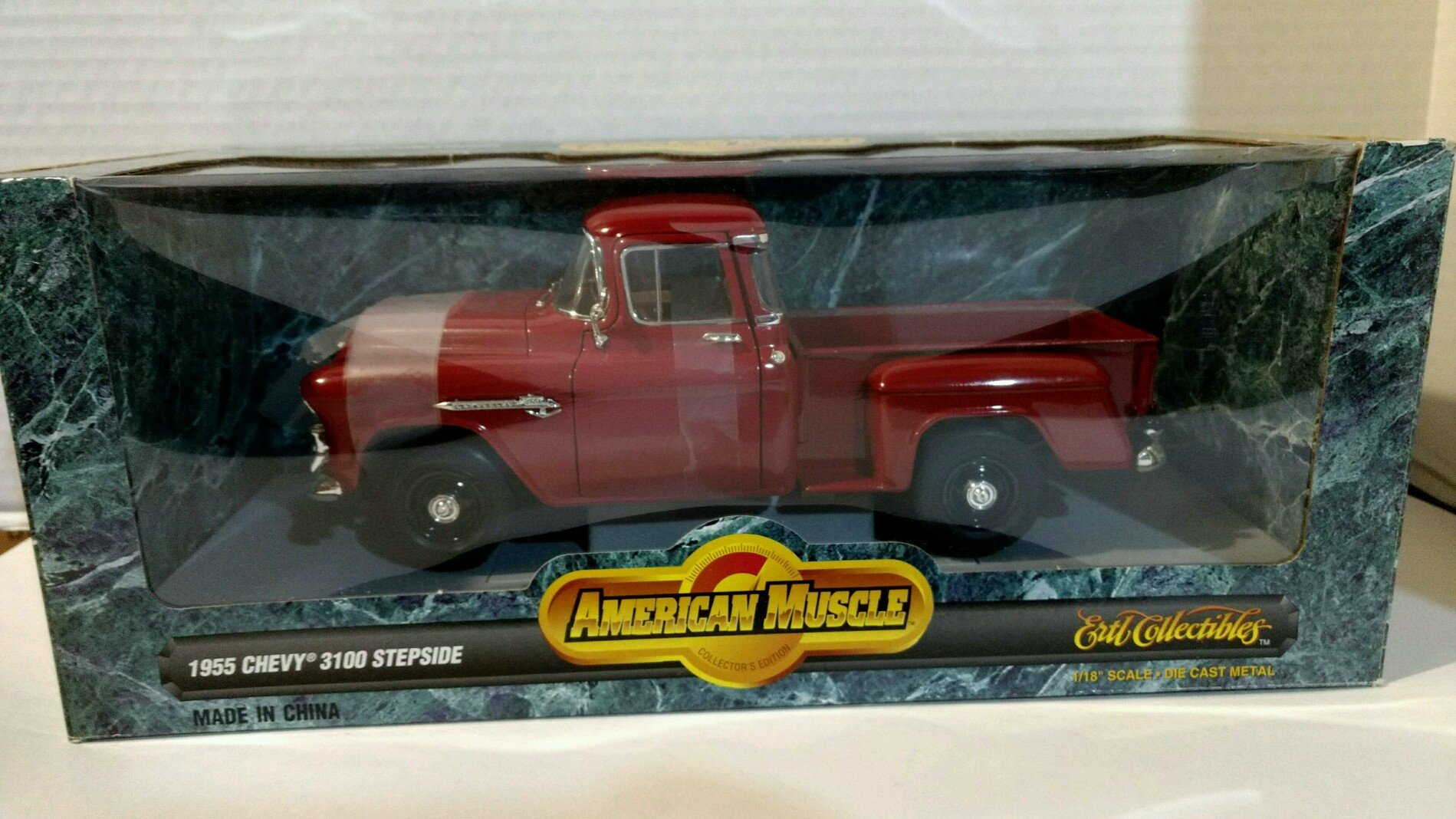 Ertl 7788 1955 Chevy 3100 Stepside Pickup 118 Scale Diecast Replica Ford F100