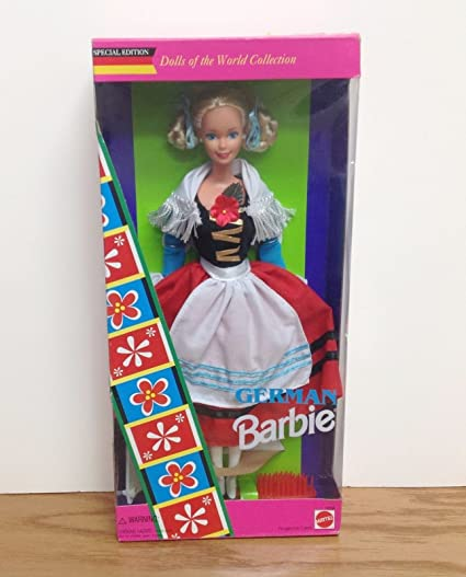 Amazon.com : GERMAN Barbie Doll 1995 Dolls of the World ...