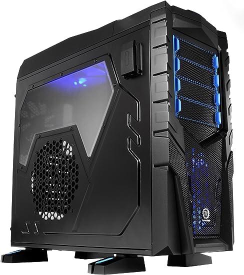 Thermaltake Chaser MK-I - Caja de Ordenador (Full-Tower, PC, SECC, ATX, Micro-ATX, Negro, Standard ATX PS2): Amazon.es: Informática