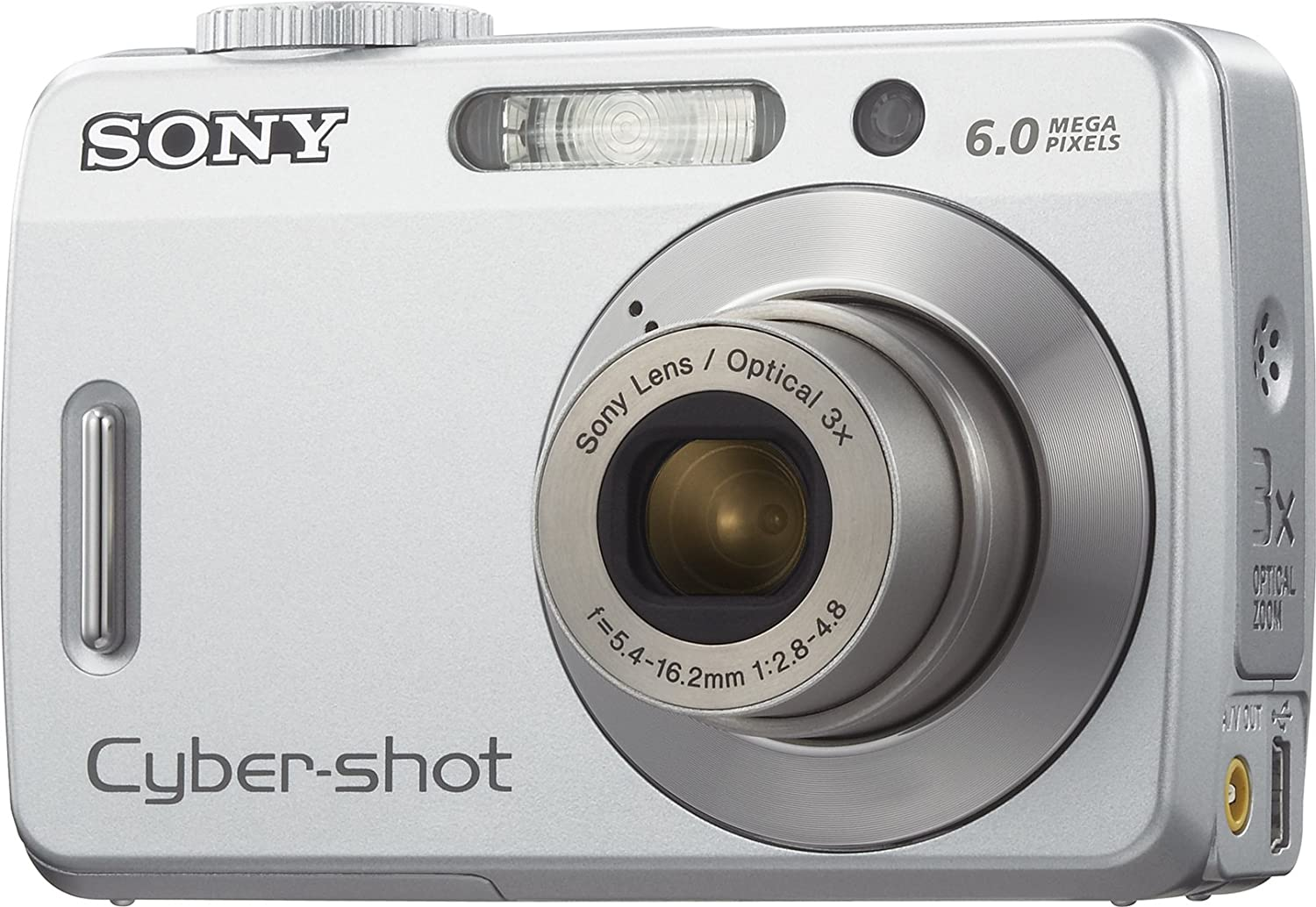 Amazon.com : Sony Cybershot S500 6MP Digital Camera with 3x Optical Zoom  (OLD MODEL) : Point And Shoot Digital Cameras : Camera & Photo