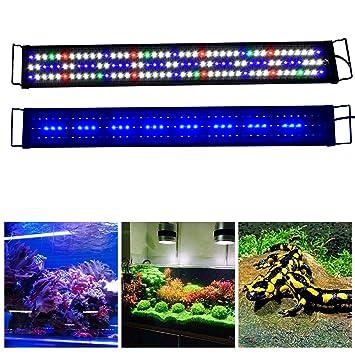 super bright led aquarium light fits coral fish plant saltwater