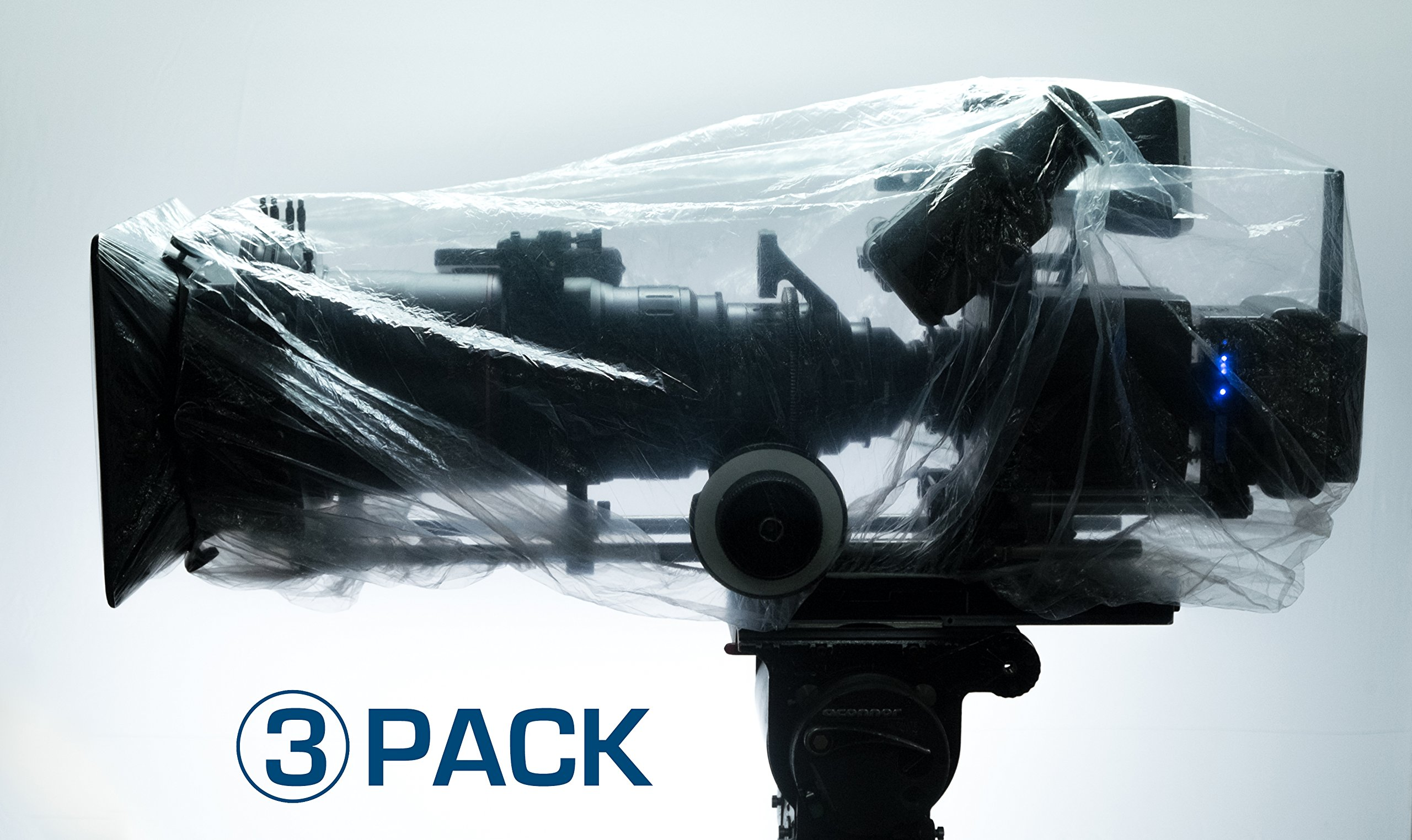 3 PACK CAP IT! COVERS (MEDIUM) CAMERA & ELECTRONICS PROTECTION PERFECT FOR ARRI, RED, SONY, PANASONIC, PANAVISION, BLACK MAGIC, STEADICAM, GIMBLE RIGS AND MORE by CAP IT!