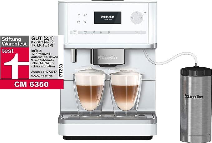Miele CM6350 GRGR – Cafetera automática blanco loto: Amazon.es: Hogar