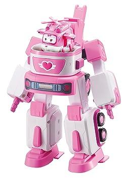 Auldey Super Wings Véhicule Transformable en robot 18 cm  quot Dizzy s  Rescue Tow quot  + 37cde42d09c7