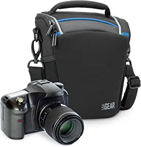 USA Gear | Bolsa para Cámara de Fotos Réflex Digital | Compatible ...