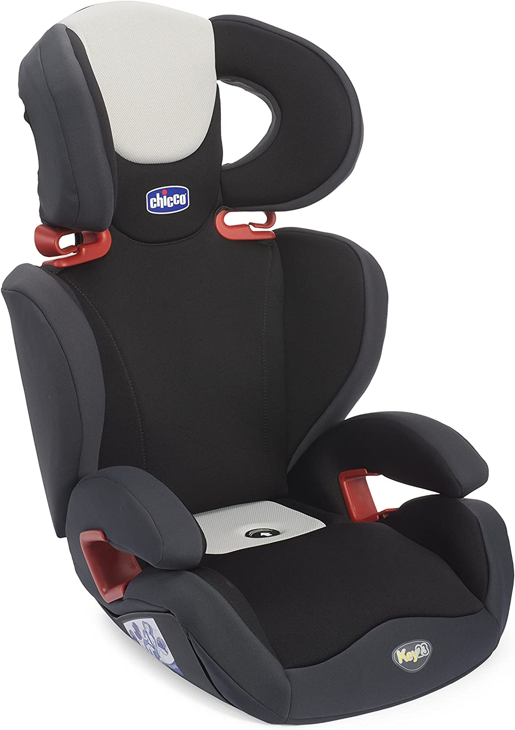 Chicco Key 2-3 - Silla de coche, grupo 2/3, color negro: Amazon.es ...