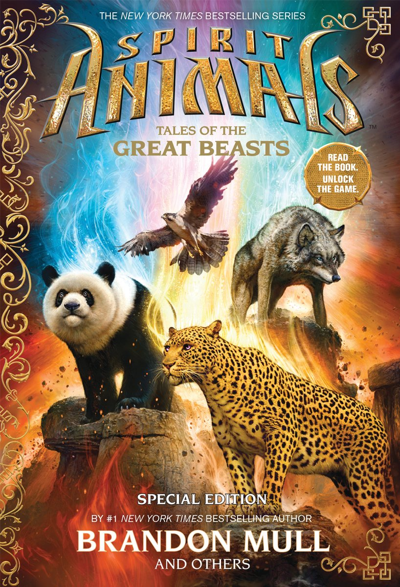 Spirit Animals: Special Edition: Tales Of The Great Beasts: Brandon Mull,  Nick Eliopulos, Billy Merrell, Gavin Brown, Emily Seife: 9780545695169: