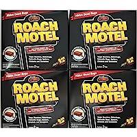 8 traps Roach Motel Black Flag Cockroach Killer bait Glue Trap