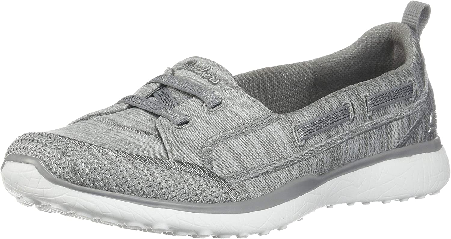 Skechers Microburst What A Charm Womens Slip On Sneakers