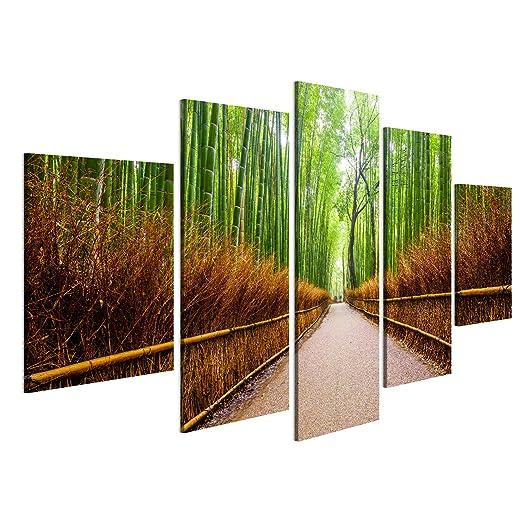 Islandburner Bild Bilder Auf Leinwand Weg Zum Bambuswald Arashiyama