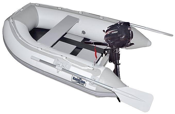 nautiline Hinchable Barco Tender Tira 250 con hidea Motor ...