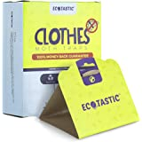 ECOTASTIC Clothing Moth Traps - 11 Count - Foldable Moth - Eco-Friendly Hassle Control - Pheromone Technology - Closet…
