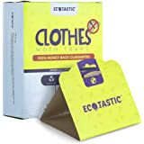 ECOTASTIC Clothing Moth Traps - 11 Count - Foldable Moth - Eco-Friendly Hassle Control - Pheromone Technology - Closet Mothba