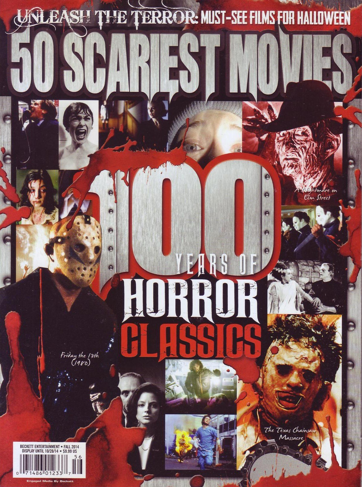Read Online 50 Scariest Movies: 100 Years of Horror Classics PDF