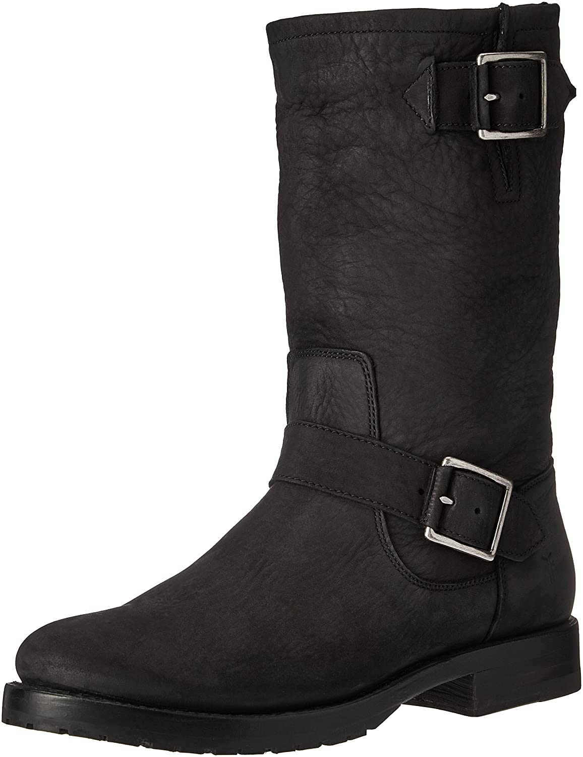 FRYE Women's Natalie Mid Engineer Boot B01HON9MKE 7 B(M) US|Black