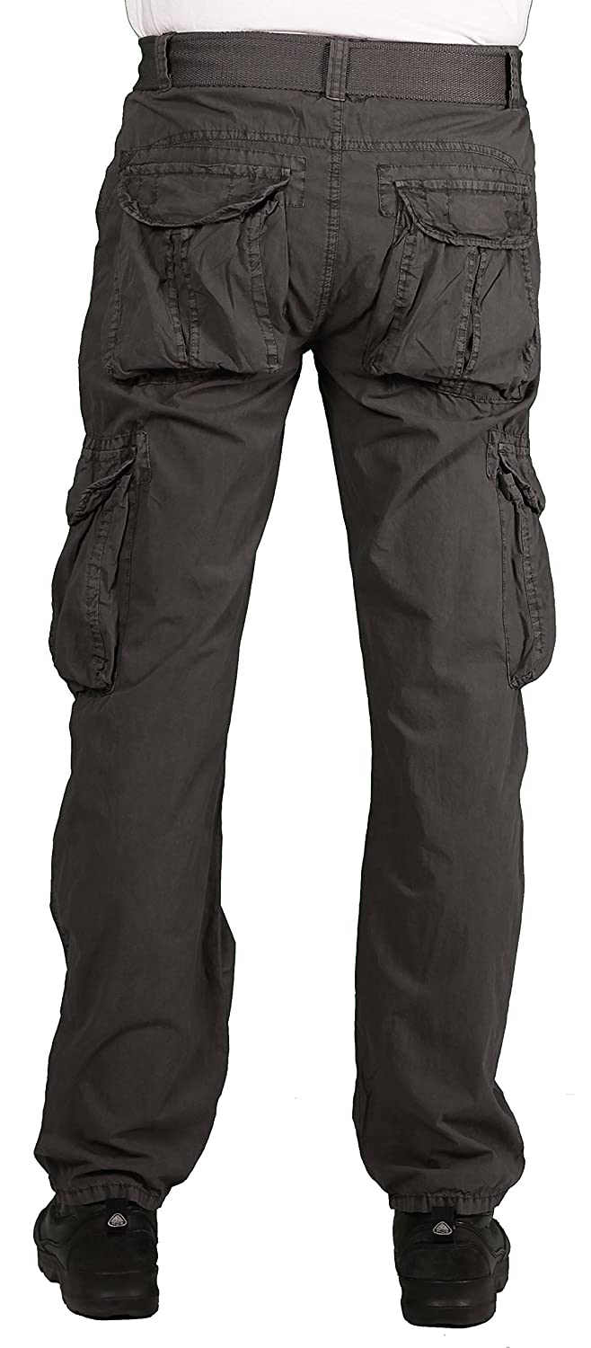 a5946f5875 Camp & Campus Young Men's Rustic Cargo Pant at Amazon Men's Clothing store: