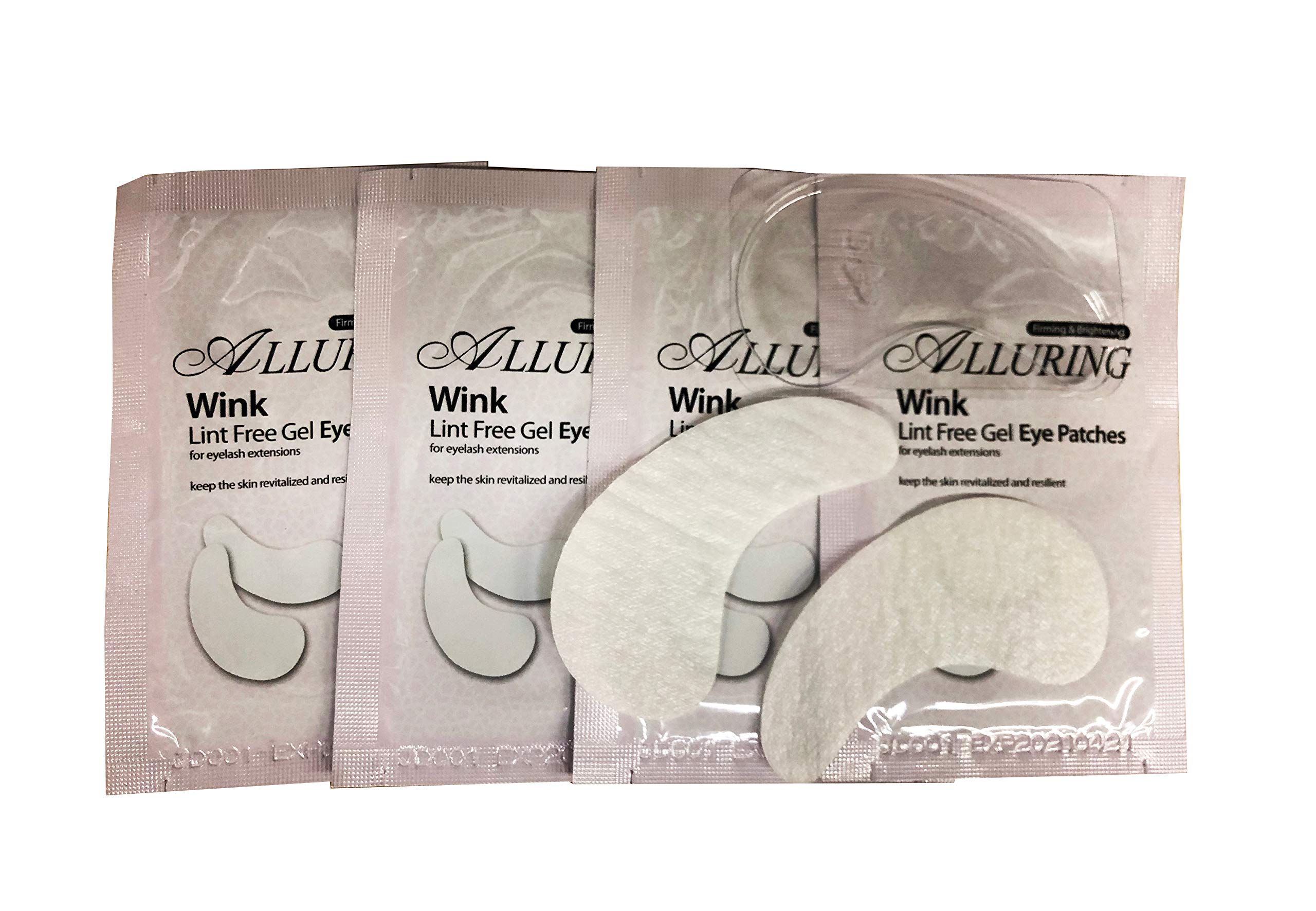 100 Pairs- Eyelash Extension Lint Free Under Eye GEL Pad Patches by eyebeautiful by Eye Beautiful