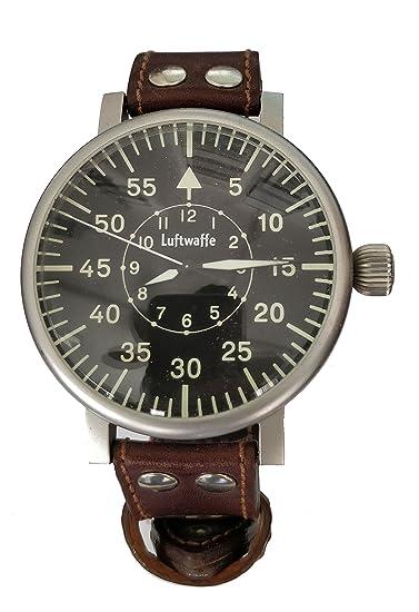 reloj Relojes para hombres FUERZA-AEREA Reloj de Vuelo XXL-HB: Amazon.es: Relojes
