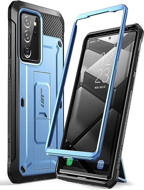 Supcase Outdoor Hülle Für Samsung Galaxy Note 20 Ultra 6 9 5g Handyhülle Bumper Case Rugged Schutzhülle Cover Unicorn Beetle Pro Ohne Displayschutz Mit Gürtelclip Und Ständer Blau Elektronik