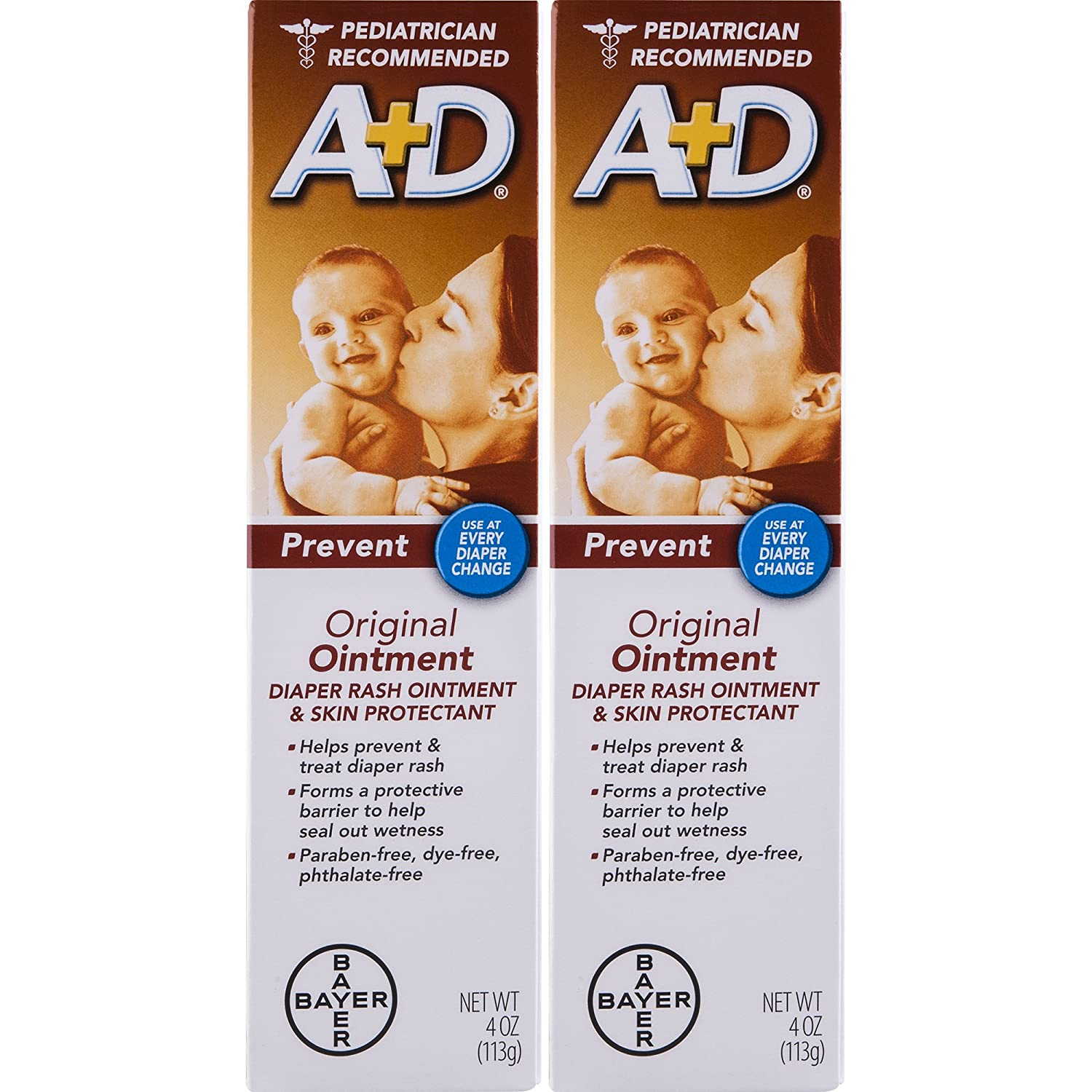 A& D Ointment, 4-Ounce (Pack of 2) usa-iiu-tm152