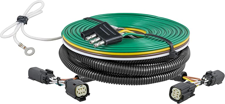 Roadmaster 15267 All-In-One Towed Vehicle Wiring Kit for 6 to 7-wire Towing Combinations