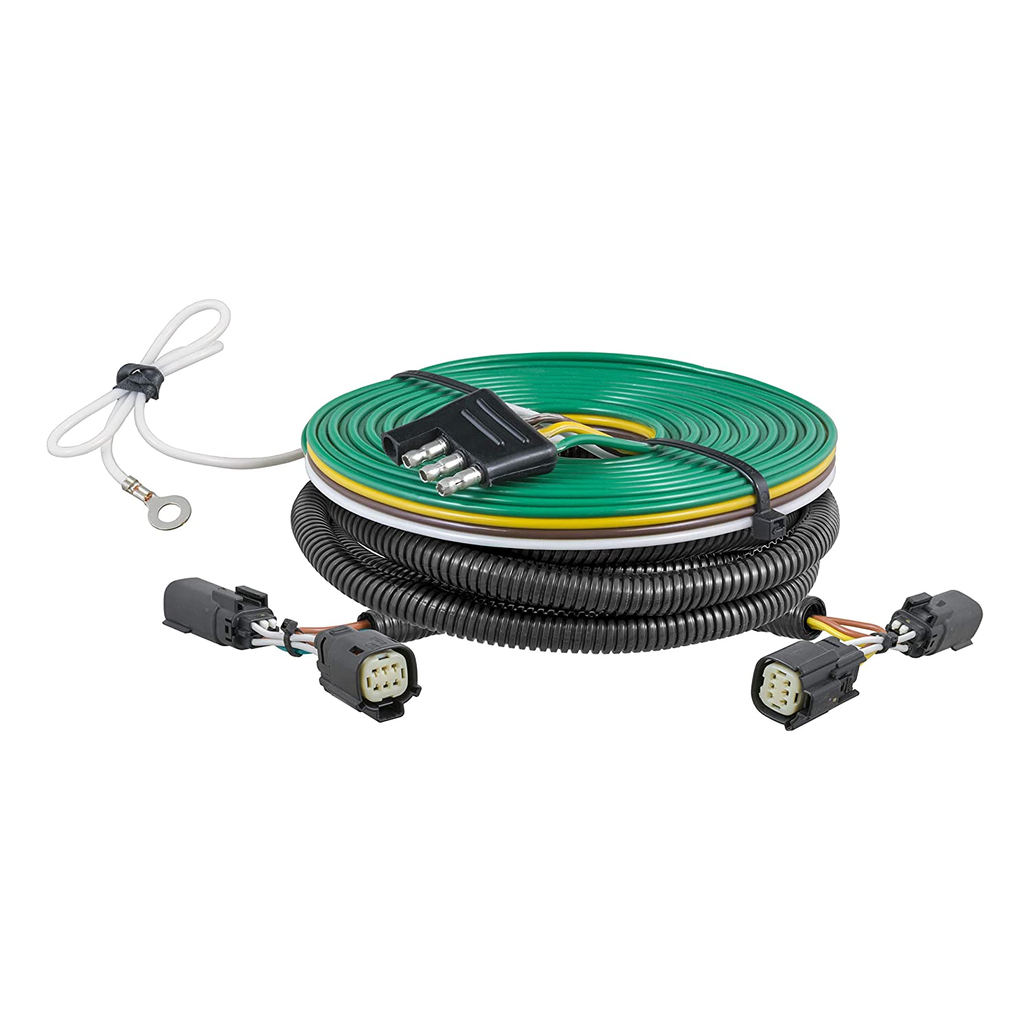 CURT 58910 Custom Towed-Vehicle RV Wiring Harness for Dinghy Towing Select Chevrolet Colorado GMC Canyon