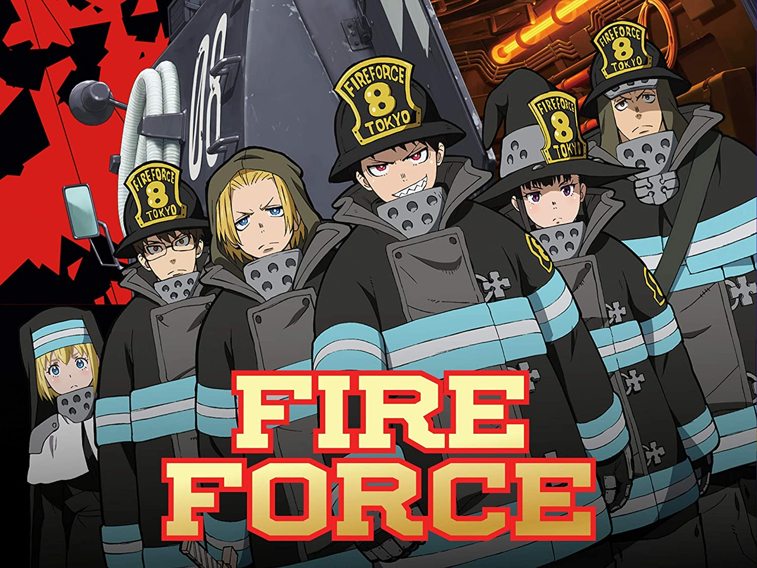 Amazon Com Fire Force Poster Wall Print Wall Decor Enen No Shouboutai Ni No Shou Wallpaper Anime Home Decor Gift For Her Gift For Him Handmade