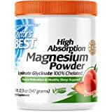 Doctor's Best High Absorption Magnesium Powder (Peach Flavored) 100% Chelated TRACCS, Not Buffered, Headaches, Muscle, Nerve,