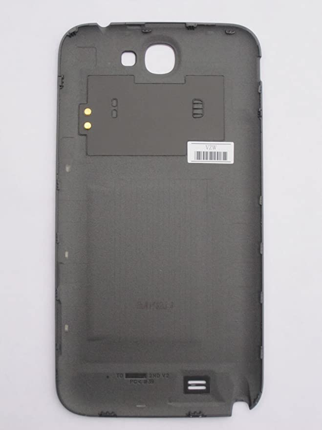 OEM Samsung Standard Battery Door Cover for Samsung Galaxy Note II Verizon I605 with NFC titanium color Retail Packaging