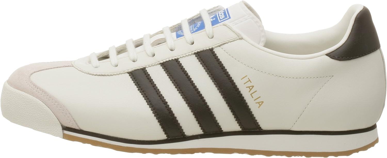 Ganar Nominación Premedicación  adidas Italia - Zapatillas de piel sintética para hombre Blanco blanco y  azul 38 2/3 EU, color Beige, talla 40 2/3 EU M: Amazon.es: Zapatos y  complementos