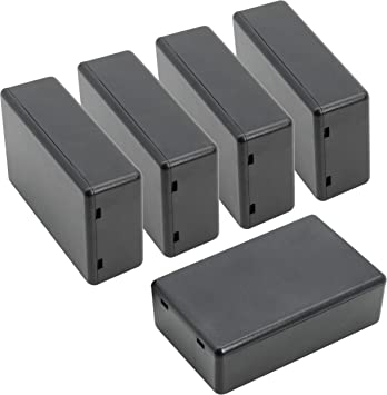 "2.75/""*1.77/""*0.71/"" 10x Plastic Electronic Project Box Enclosure Case DIY L*W*H"