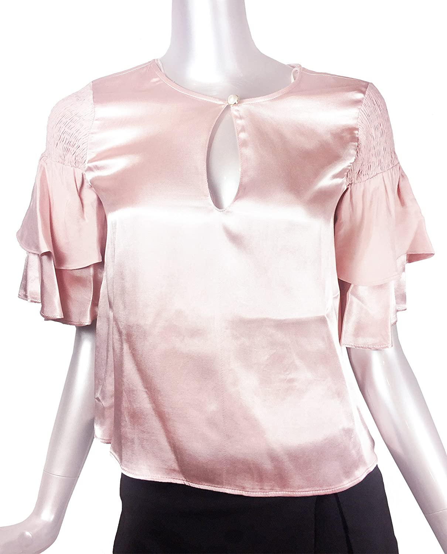 Zara - Camisas - para mujer Rose Large: Amazon.es: Ropa y accesorios