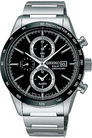 online store eb0df 3af87 [セイコーウォッチ] 腕時計 スピリット スピリットスマート クロノグラフ ソーラー サファイアガラス SBPY119 シルバー