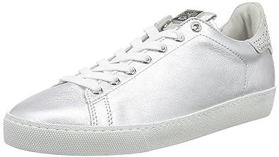 Högl 1-10 0353, Damen Sneakers, Silber (7600), 42 EU