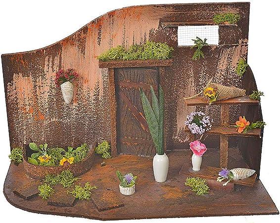 Holyart Atelier Fleuriste Creche 20x14x20 Cm Amazon Fr Cuisine