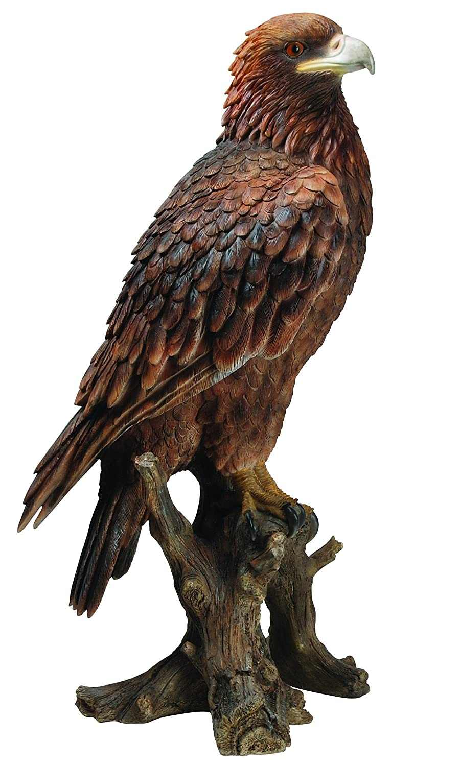 Vivid Arts Golden Eagle Resin Ornament: Amazon.co.uk: Garden U0026 Outdoors