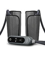 QUINEAR Masajeador eléctrico para piernas pantorrillas brazo pie con 2 modos automáticos y 3 intensidades de presión de aire