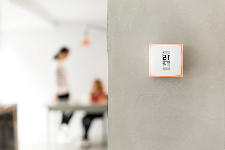 Netatmo NTH01-ES-EC Termostato Wifi Inteligente para Caldera Individual