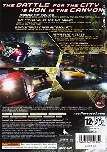 Need For Speed Carbon Xbox 360 Amazon In Video Games