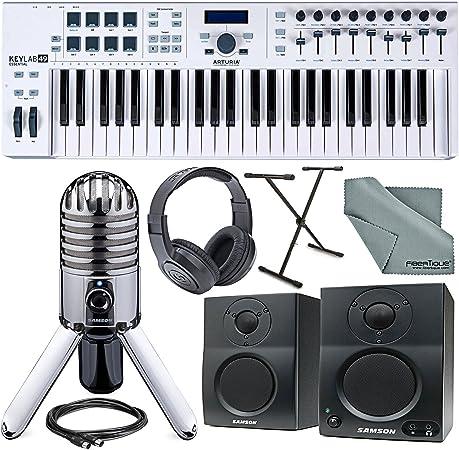 Arturia KeyLab Essential 49 Controlador de teclado universal ...