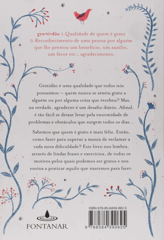 O Livro Da Gratidão Em Portuguese Do Brasil Amazones